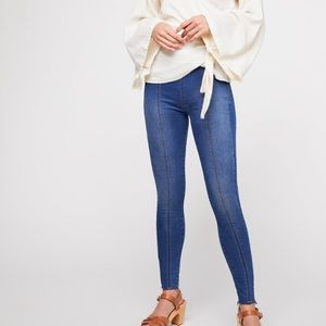 Free people seamless Jeggings